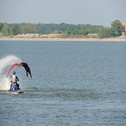 FlyBoard dolphin dive
